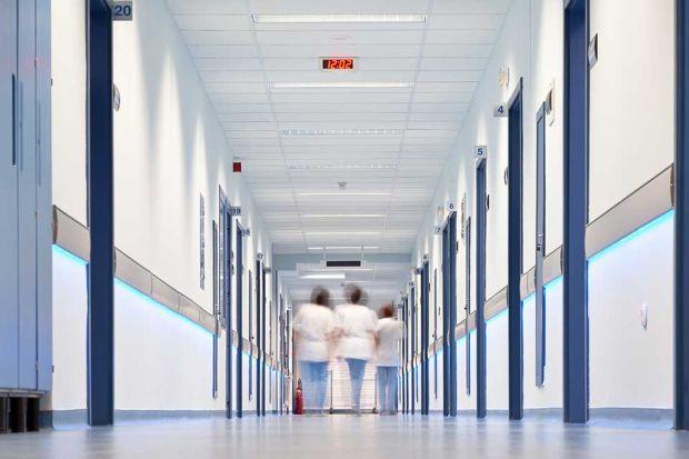 Photo: Flur Krankenhaus